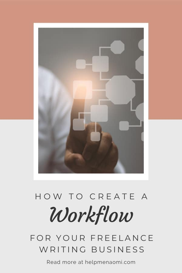 How to Create a Workflow for your Freelance Writing Business blog title overlay