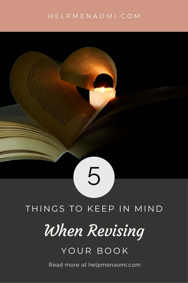 5 Things to Keep in Mind when Revising blog title overlay