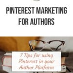 Pinterest Marketing for Authors blog title overlay