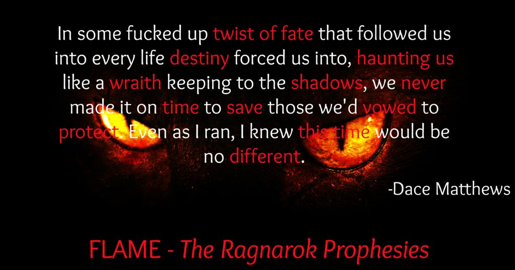 Book Teaser Example AK Morgen Flame