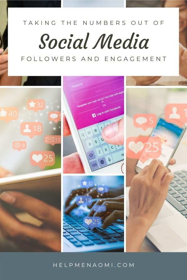 Taking the Numbers out of Social Media Followers and Engagement blog title overlay