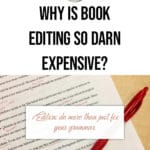 Why is book editing so darn expensive? blog title overlay