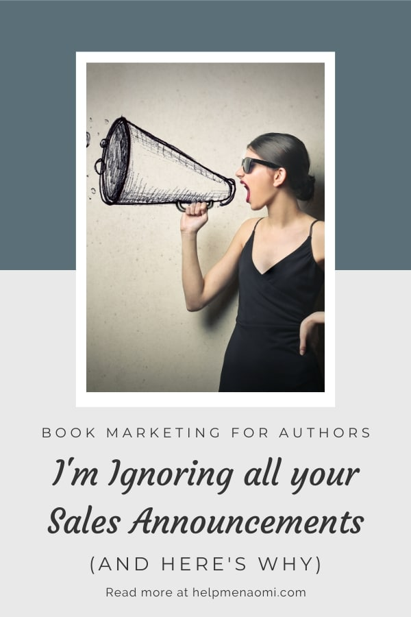 Book Marketing for Authors 101 blog title overlay