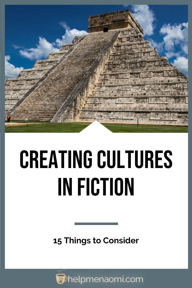 Creating Cultures in Fiction blog title overlay
