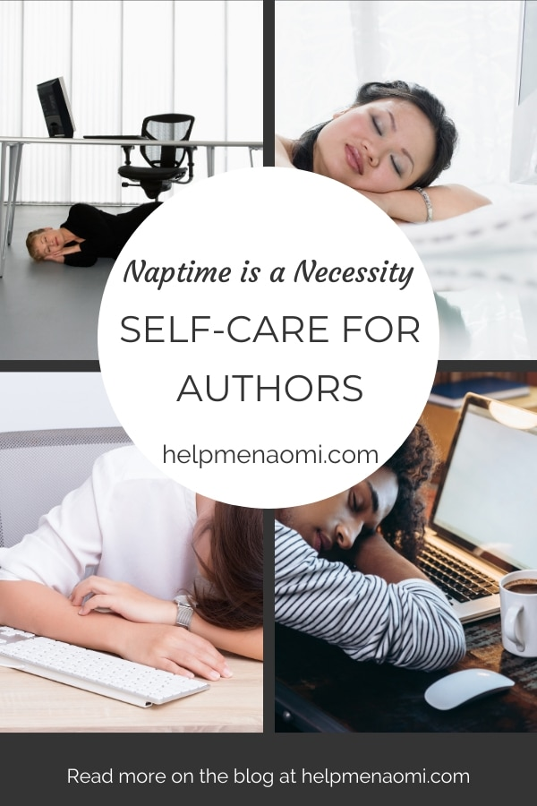 Self-Care for Authors blog title overlay