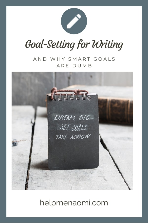 S.M.A.R.T. Goals are out... Try this goal setting technique instead blog title overlay
