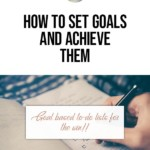 How to set goals and achieve them -- goal-based to-do lists for the win!! blog title overlay