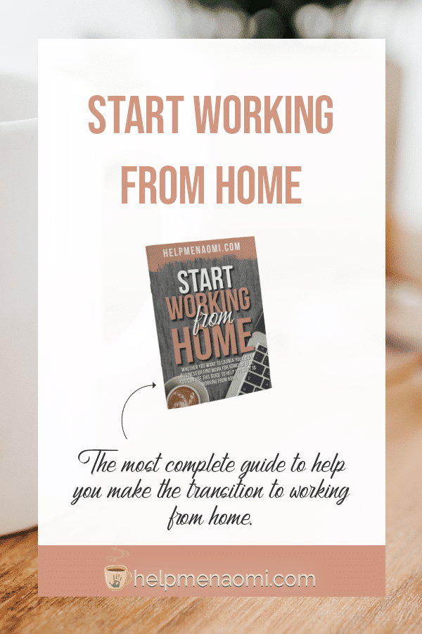 Start working from home, a complete guide.