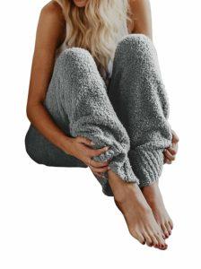 Fleece Pajama pants from Amazon