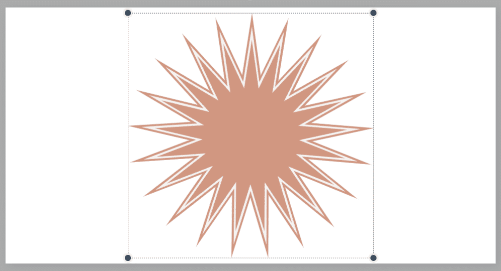 Visme Screenshot Sun Graphic