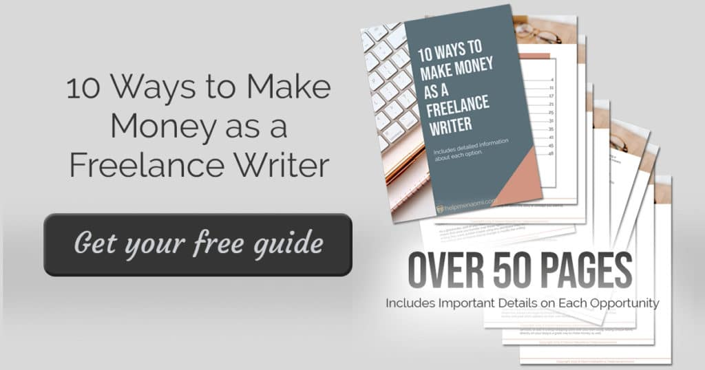 10 Ways to Make Money as a Freelance Writer Site Ad