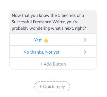 ManyChat Screenshot Whats Next