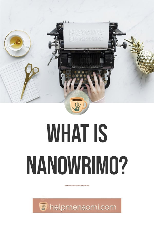 What is NaNoWriMo blog title overlay