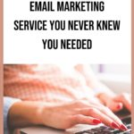 Flodesk - the Ultimate Email Marketing Service blog title overlay