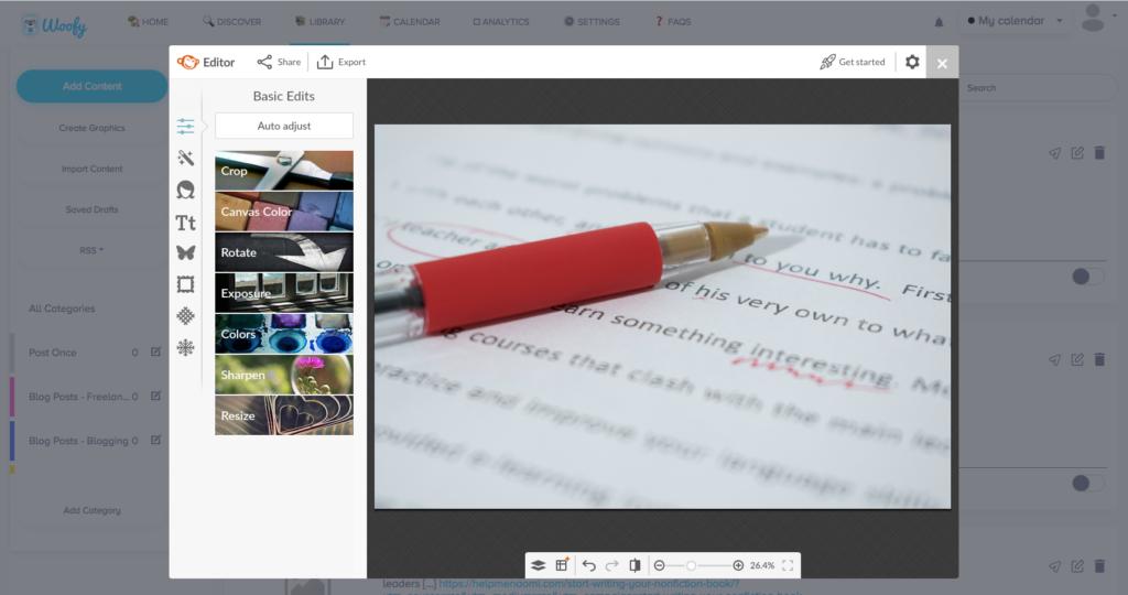 HelloWoofy Social Media Management Tips Screenshot Graphics