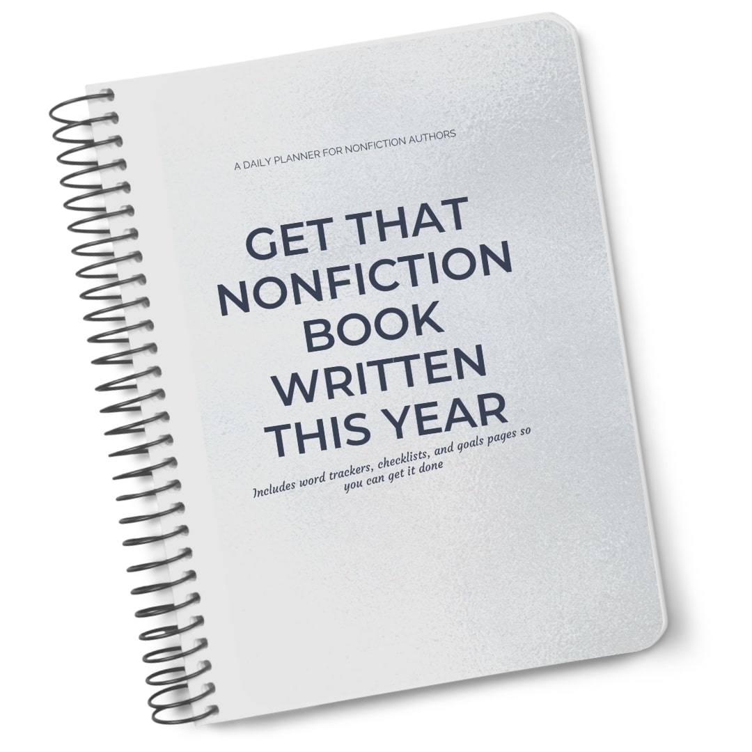 Write that Nonfiction Book Now Planner Mockup